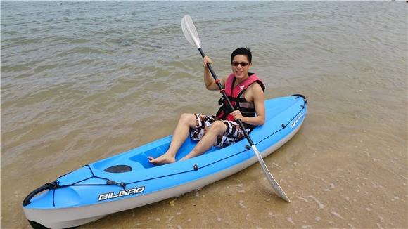 韋禮安開春峇里島大解放 大玩各種水上運動