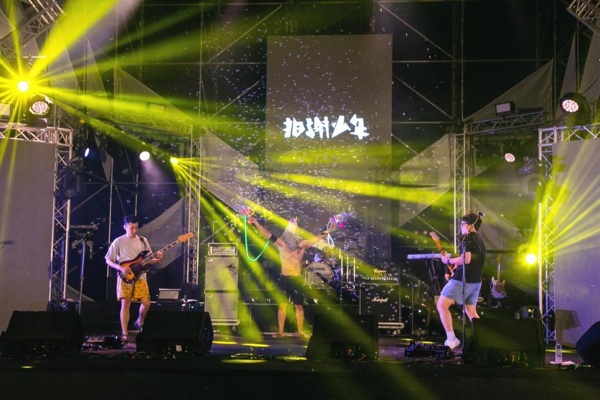 台日樂團遠距共演 搖滾台中前夜祭揭幕