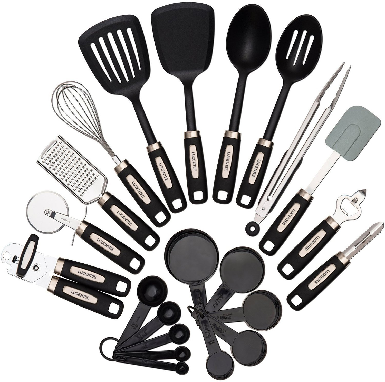 22 Piece Kitchen Utensils Sets Home Cooking Tools