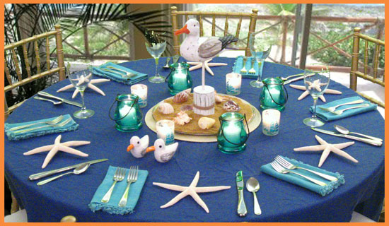 Decorating Ideas For Beach Parties