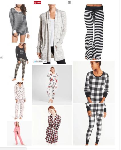 Winter Pajamas