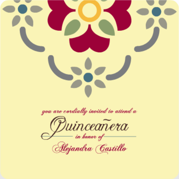 Quinceanera Invitation Wording Ideas Amp Inspiration From