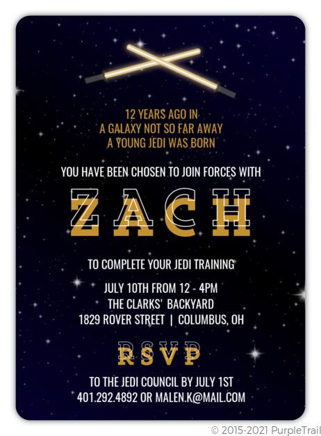 star wars birthday party ideas