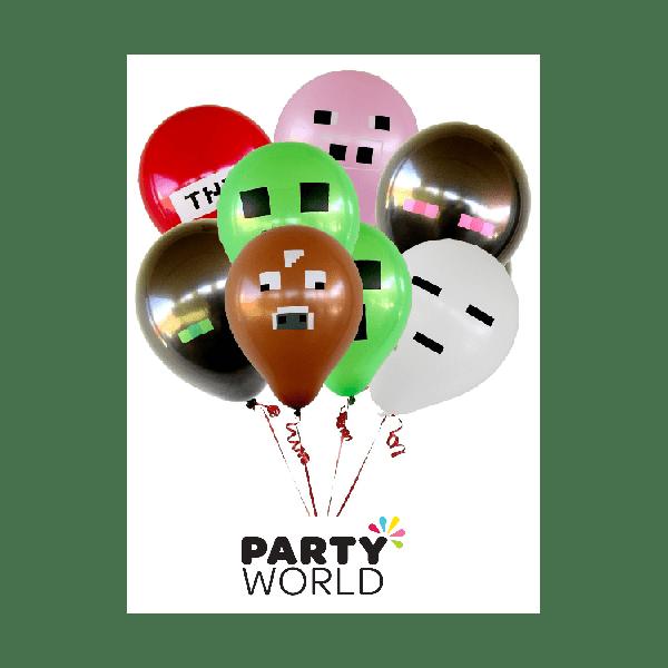 Minecraft Balloons 6 Party World
