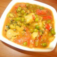 आलू मटर टमाटर की सब्जी बनाने की विधि/ तरीका Aloo Matar Tamatar Sabzi Recipe Vidhi