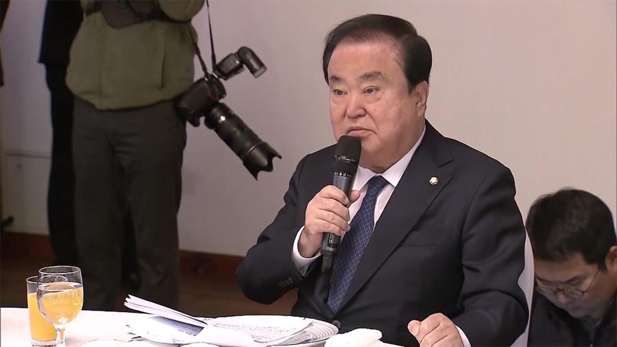 【韓国が完全終了へ】慰安婦問題「天皇陛下が謝罪をすれば問題解消」韓国の国会議長