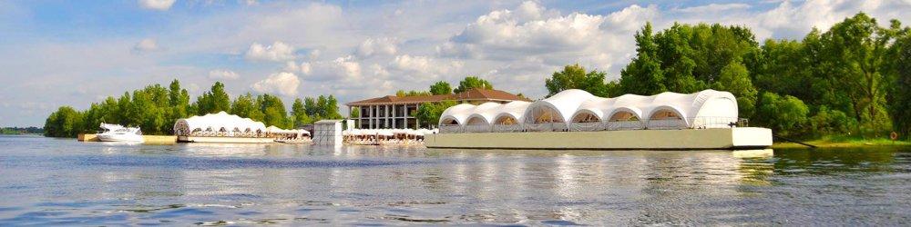Ресторан на воде Днепровская ривьера