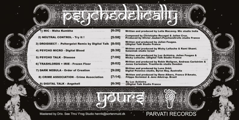 va - Psychedelically Yours - prvcd02 - image