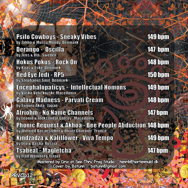 va - Psy Stories II - prvcd12 - back cover