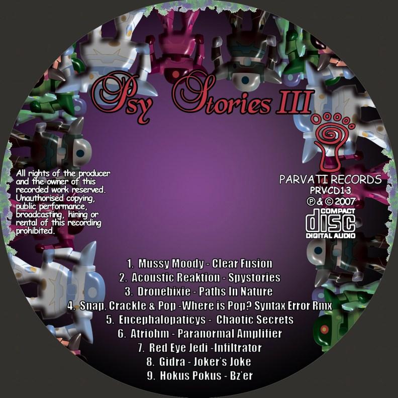 va - Psy Stories III - prvcd13 - CD image