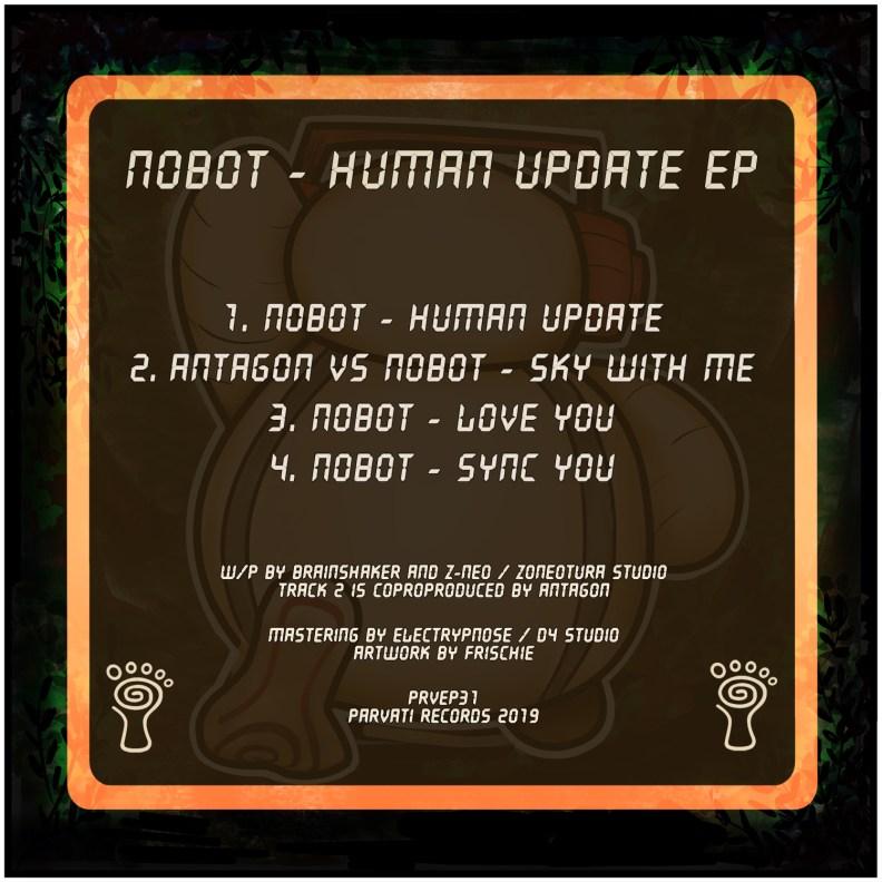 Nobot - Human Update - prvep31 - back cover