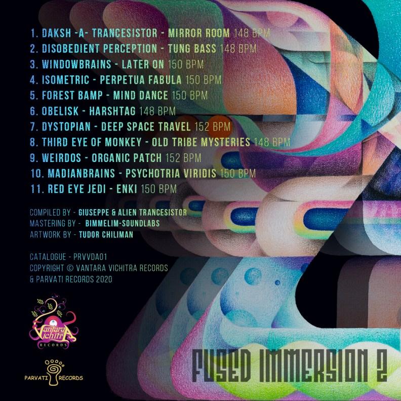 va - Fused Immersion 2 - prvvcd02 - back cover