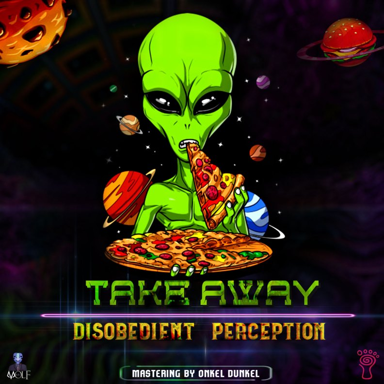 Disobedient Perception - Take Away - prvdg34 - front cover