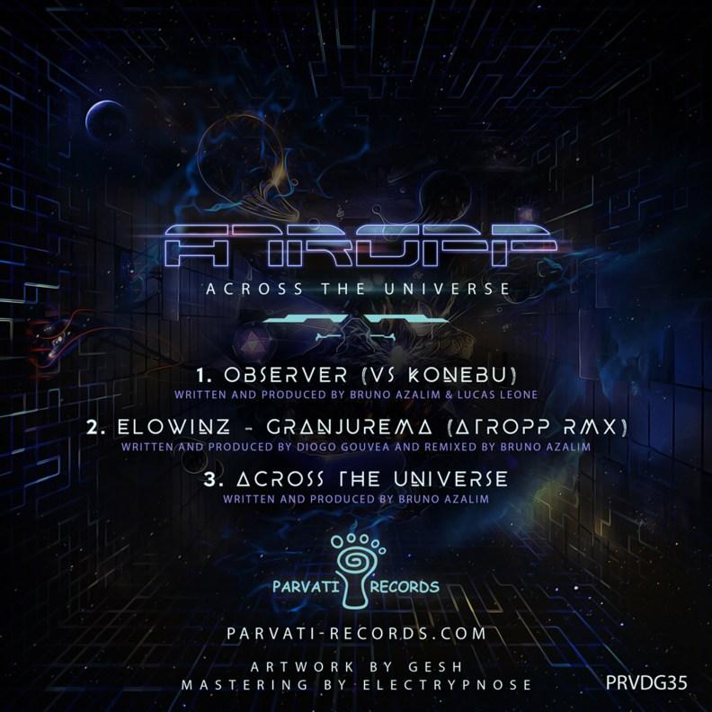 Atropp - Across The Universe - prvdg35 - back cover