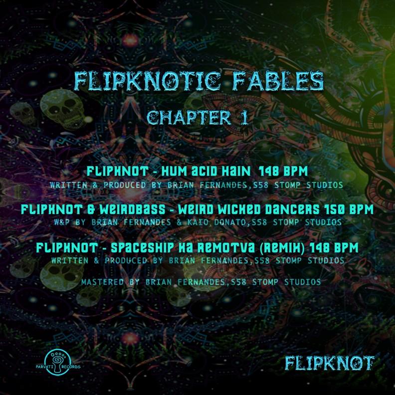 Flipknot - Flipknotic Fables - prvep35 - back cover