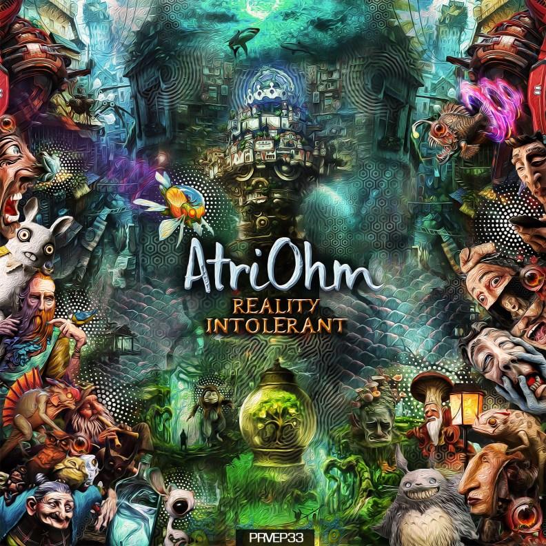 Atriohm - Reality Intolerant - prvep33 - front cover