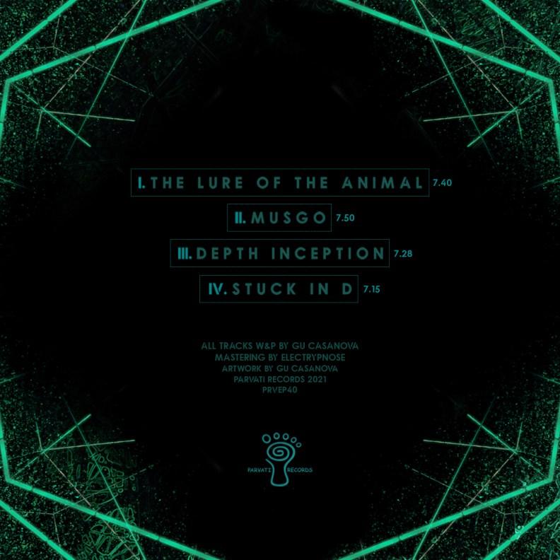Ulvae - Modus Nocturnus - EP back cover