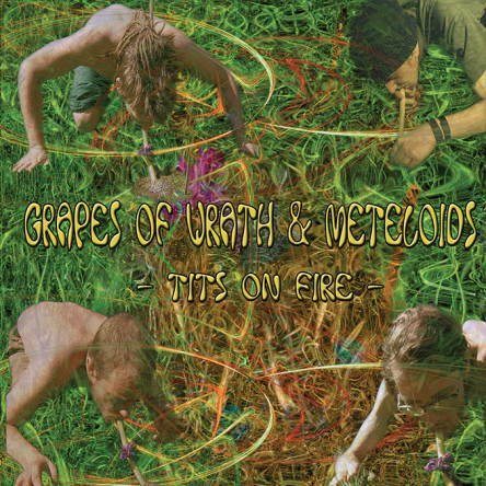 Split Album - Grapes of Wrath & Meteloids - Tits on Fire - prvcd07 - featured image