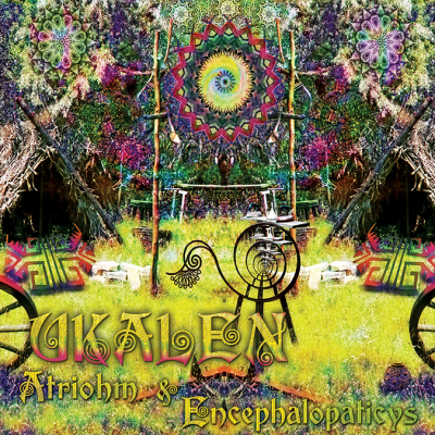 Split Album - Atriohm & Encephalopaticys - Ukalen - prvcd17 - featured image