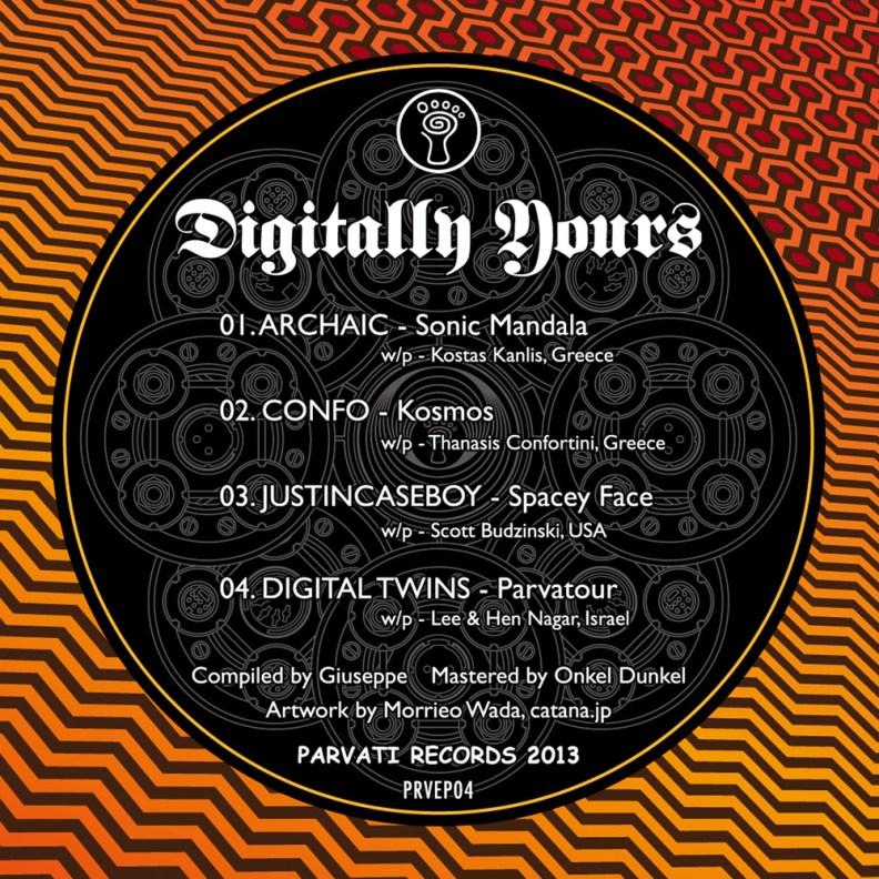 va - Digitally Yours - prvep04 - back cover