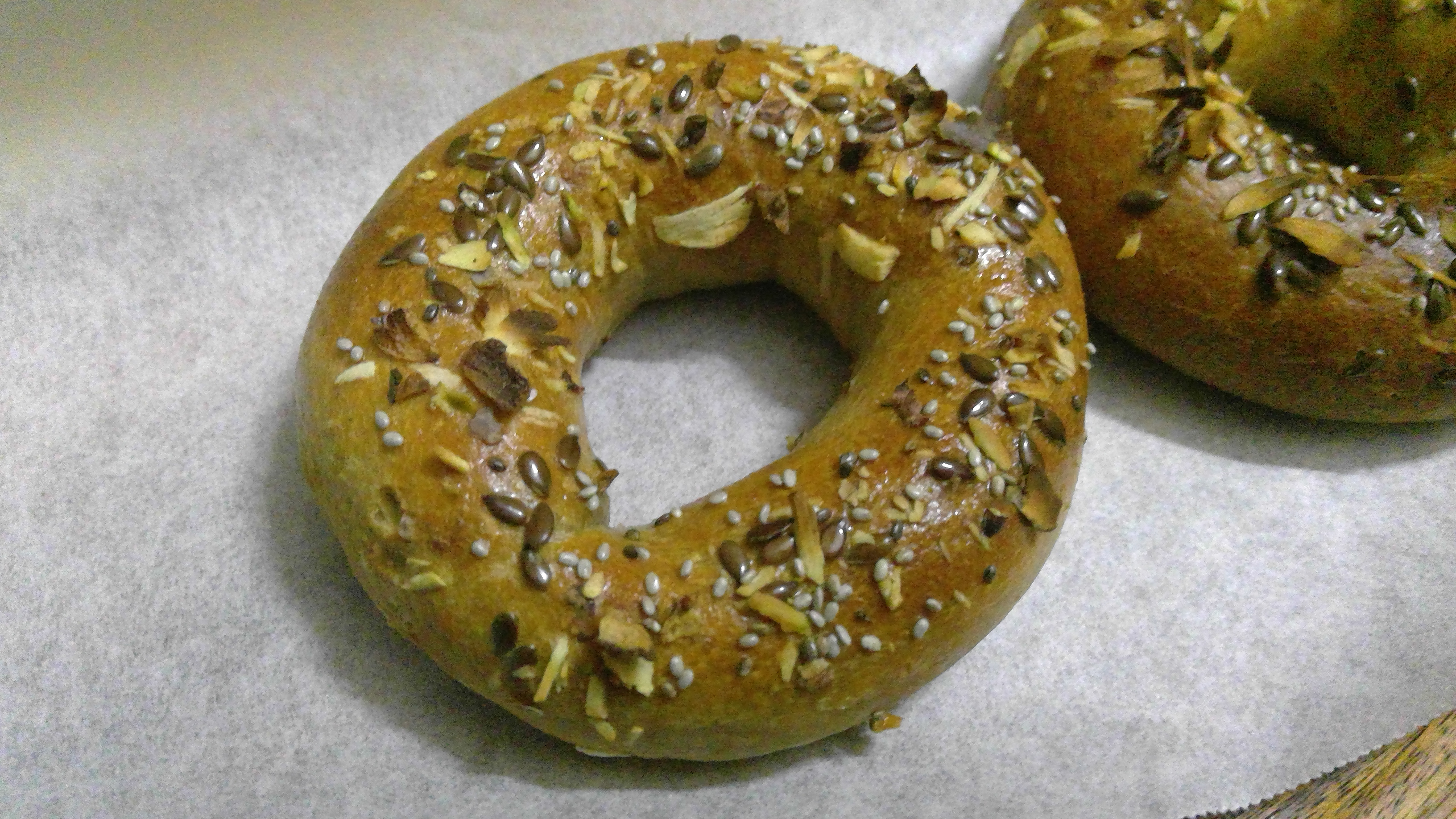 Quick and Easy, two ingredients bagel