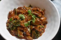 Eggplant/Brinjal Drumstick Stir fry || Kathirikai Murungaikai Thokku