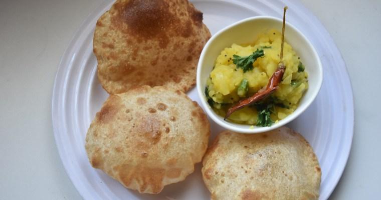 Easy Potato Masala/Spicy Potato Bhaji