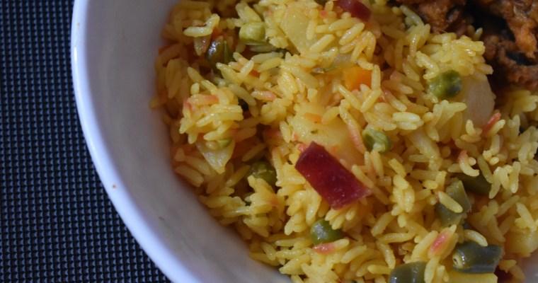 Instant Pot Vegetable Biryani