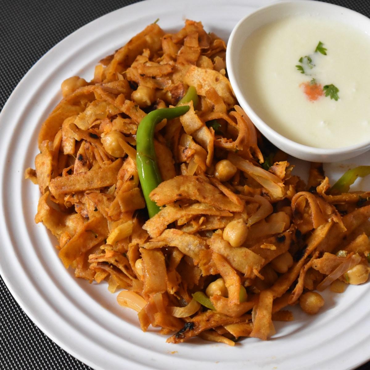Chilli Chapati - Chapati Noodles