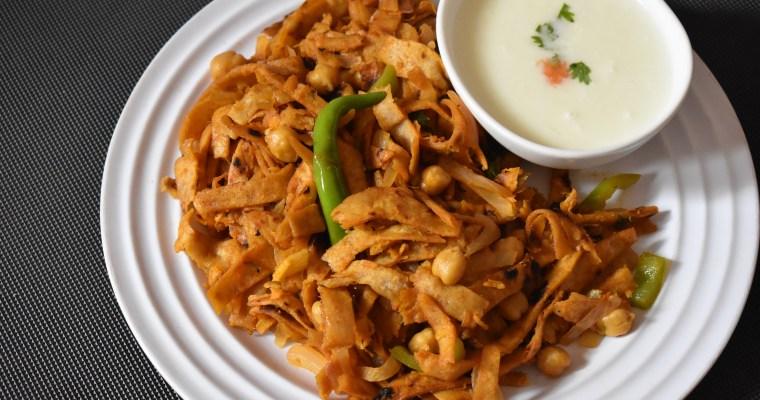 Chapati Noodles – Chilli Chapati