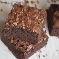 Easy Crinkle Top Brownies