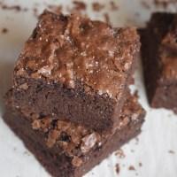 Easy Crinkle Top Brownies
