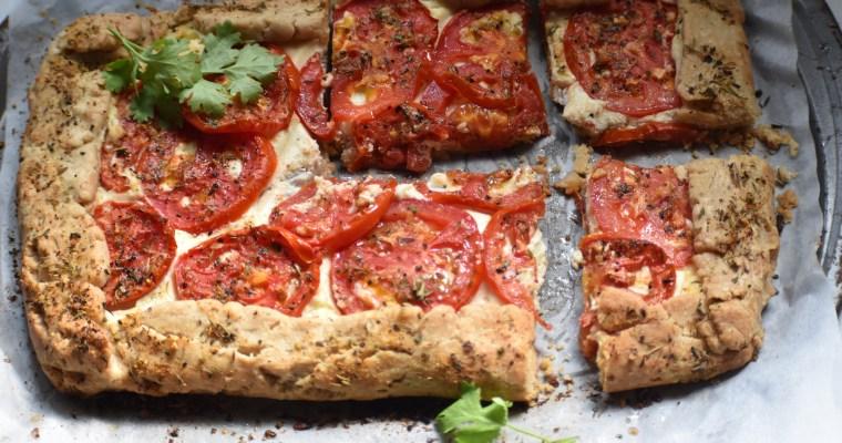 Whipped Ricotta and Tomato Tart || Tomato and Ricotta Galette