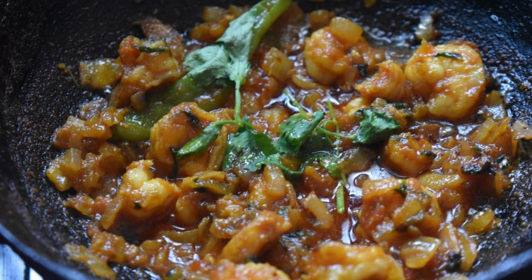 Simple Spicy Prawn Masala || Prawn Thokku / Eral Thokku
