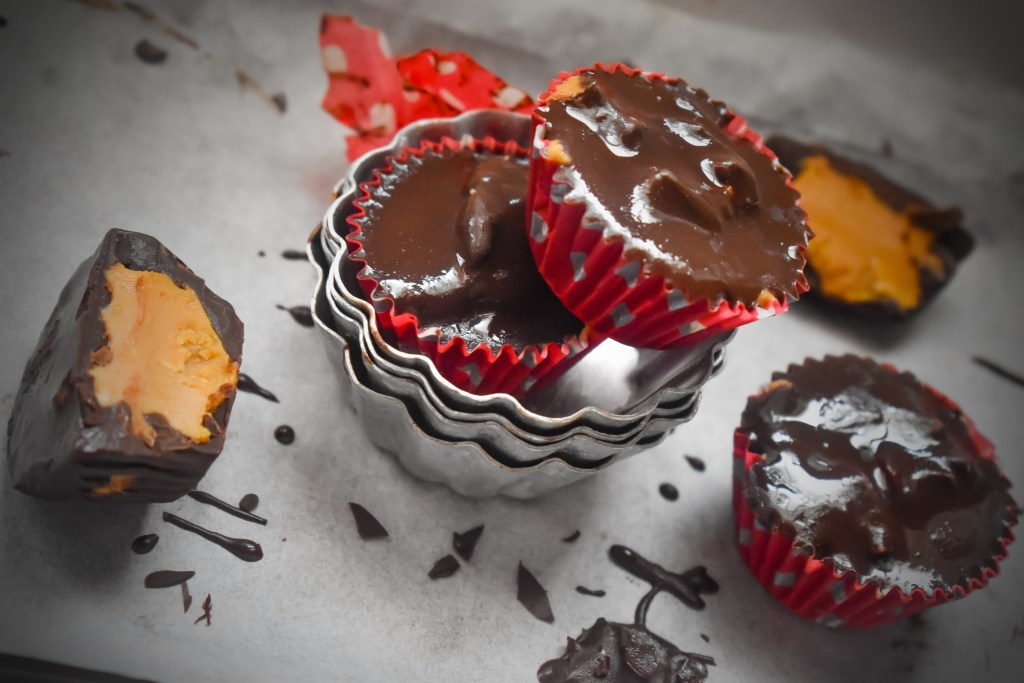 Healthy Peanut Butter Cups - Parveenskitchen.com