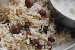 Kala Chana Pulao - Parveenskitchen.com