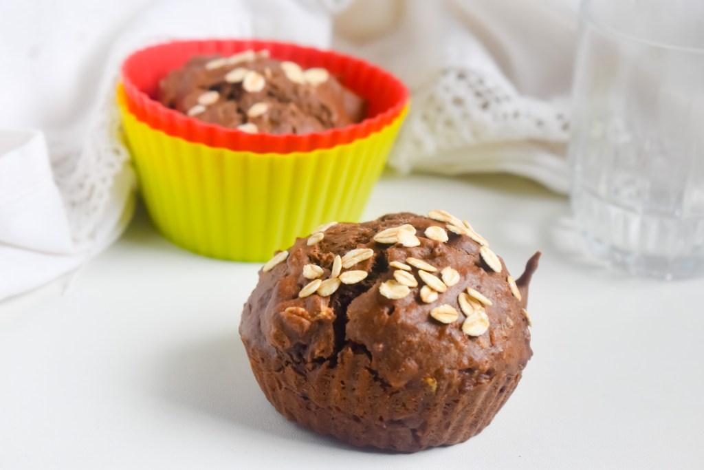 Banana Rye Oats Muffins - Parveenskitchen,com