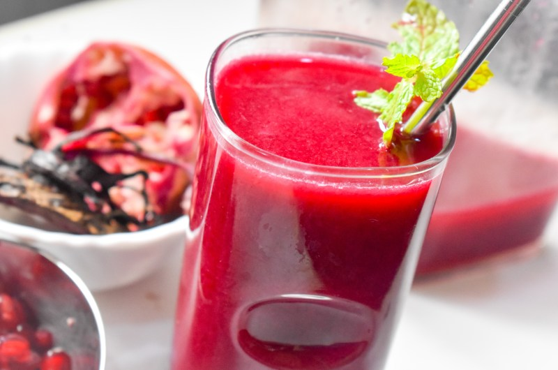 Pomegranate Beet Juice