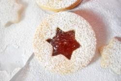 Simple Classic Linzer Cookies - Parveenskitchen.com