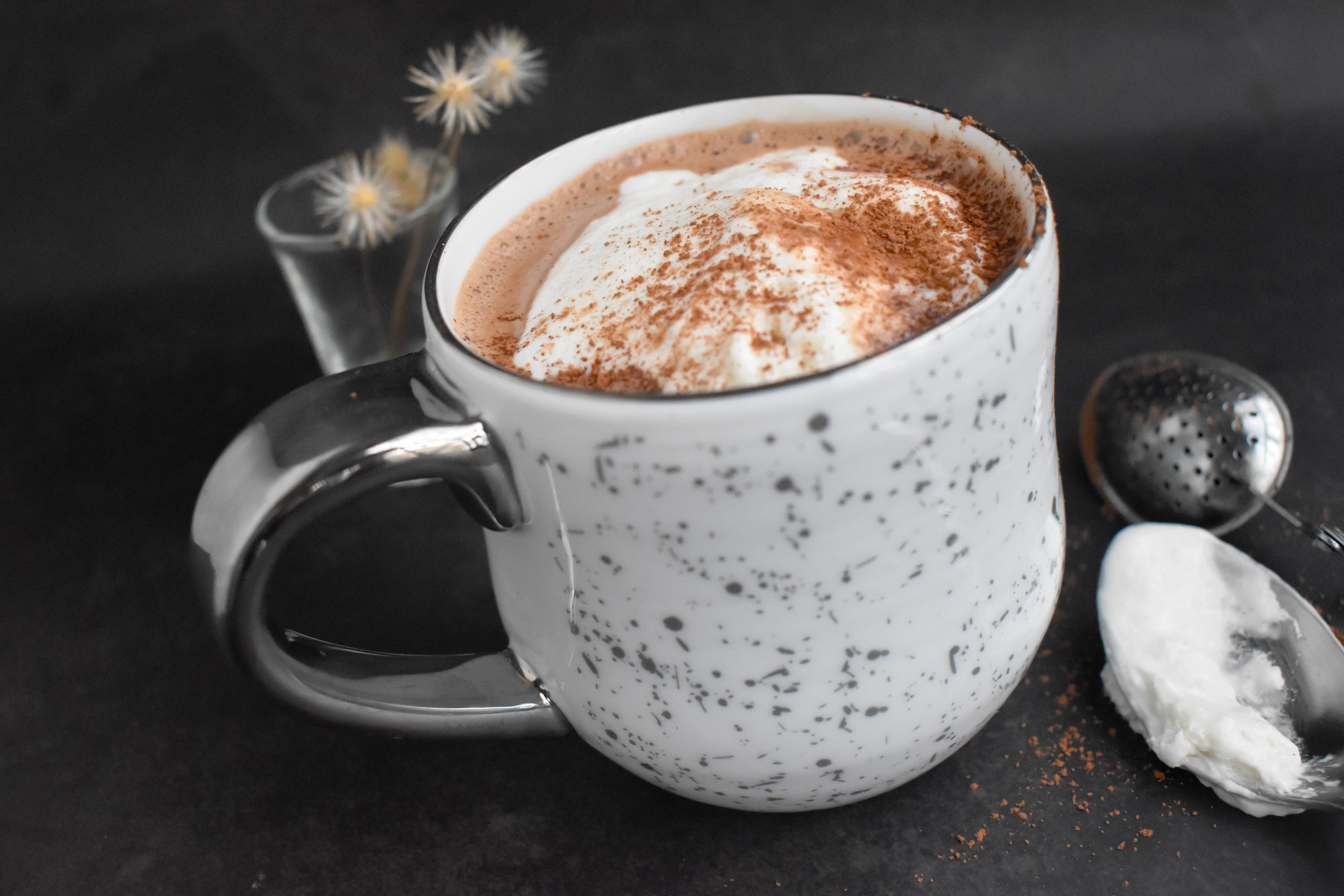 Easy Comforting Nutella Hot Chocolate