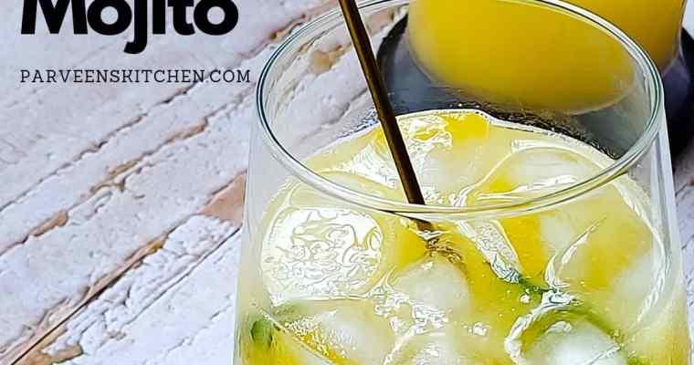 Simple Mango Mojito