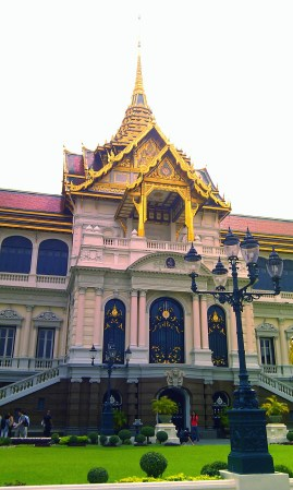 Building at the Grand Palace