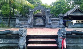 Temple near Kuta beach, Bali
