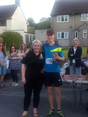 Our local outright winner - well done Jacob
