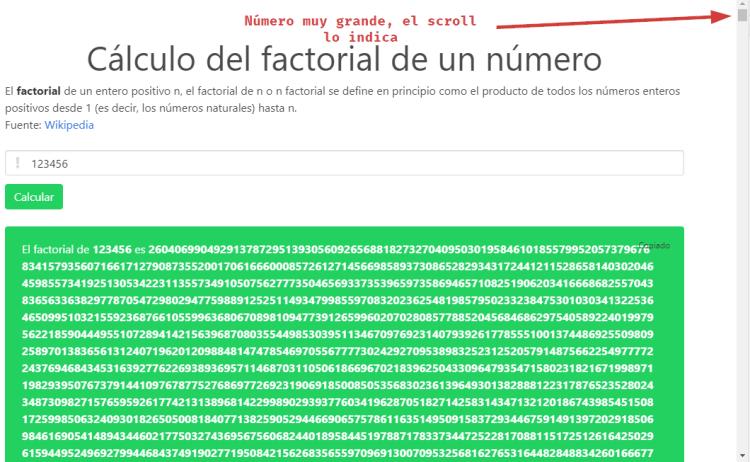 Factorial de 123456