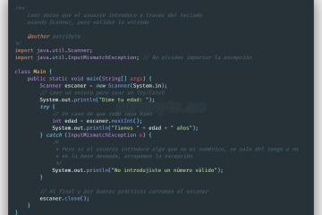 Leer datos del teclado en Java (introducidos por el usuario) y validar números o cadenas al leer con Scanner