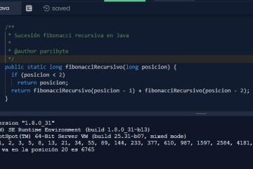 Fibonacci recursivo y con ciclos en Java