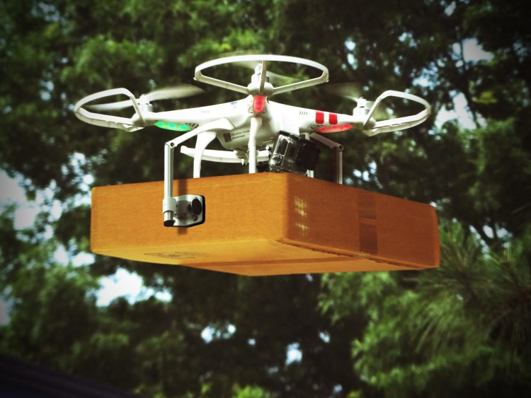 Various organisations are testing using Drones to do deliveries.