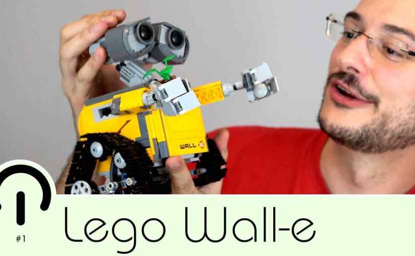 Trasteando con Lego Wall-e