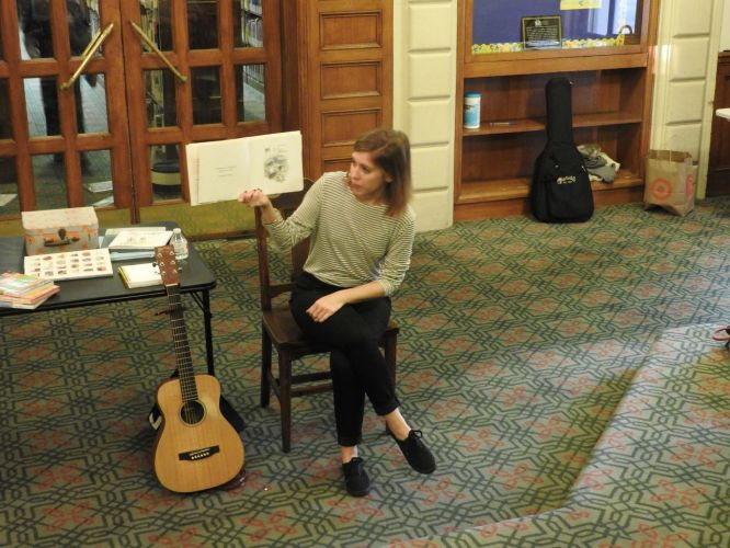 Songwriting for Ages 8-12 with Emily Arrow